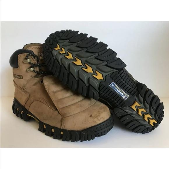ba369a291c6 Michelin work boots steel toe internal met guard
